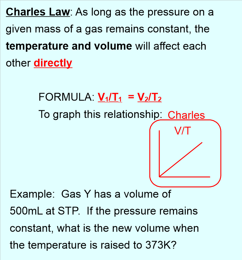 Gas Laws Lesson 2 Combined Gas Law